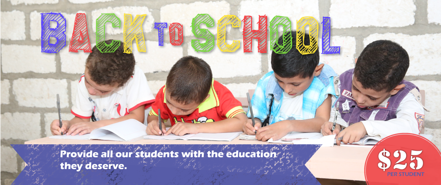 Back to School Campaign Website Slider